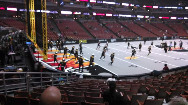 Honda Center, section: 212, row: P, seat: 8