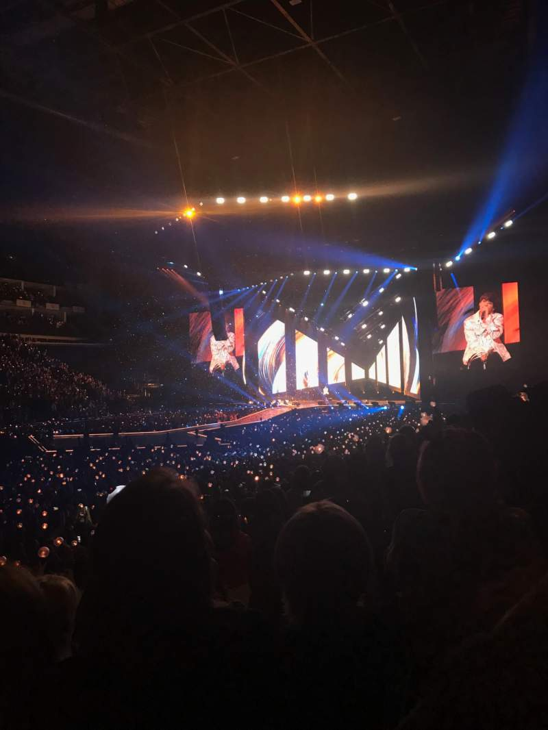 Seating view for The O2 Arena Section 110