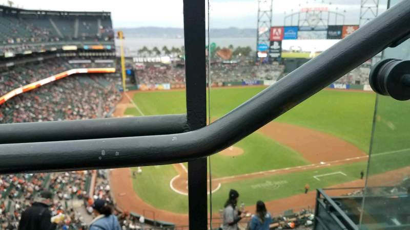 AT&T Park, section: 313, seat: 1
