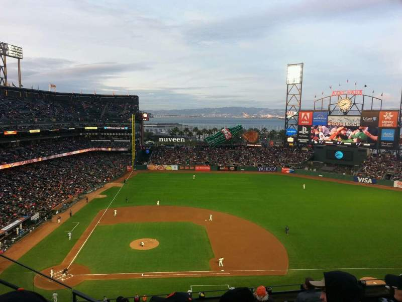 AT&T Park, section: 308, row: 3, seat: 23