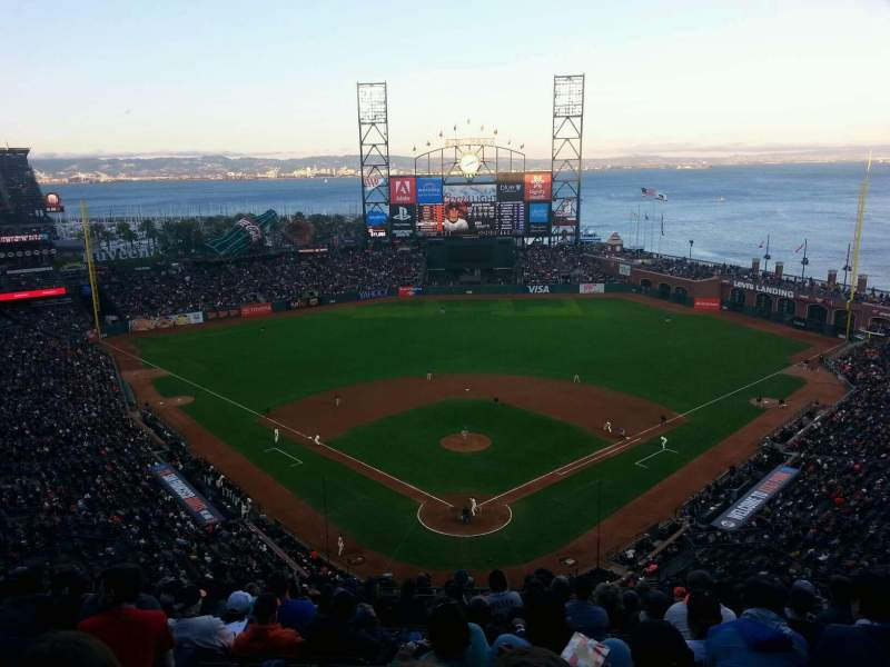 AT&T Park, section: 315, row: 12, seat: 9