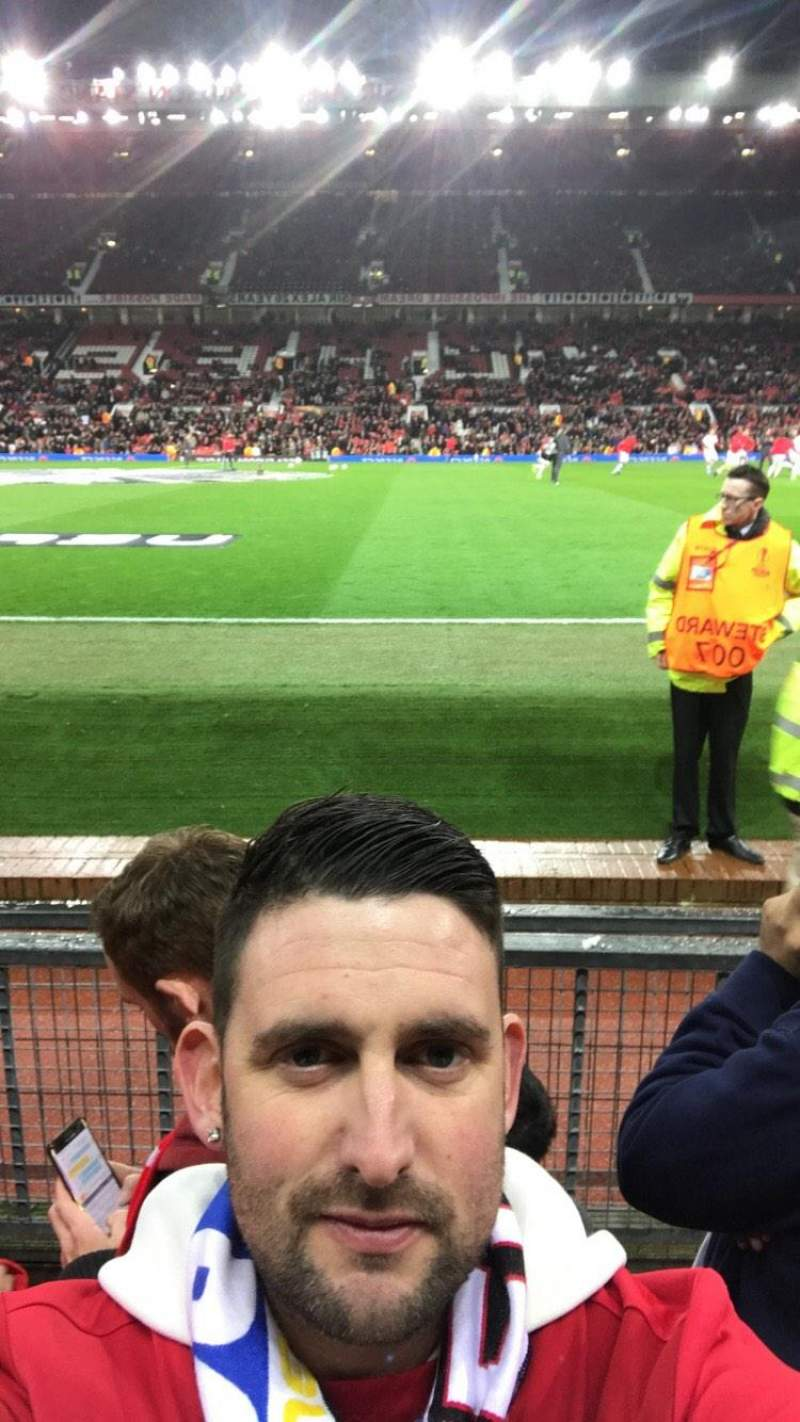 Seating view for Old Trafford Section Sth Row Cc Seat 178