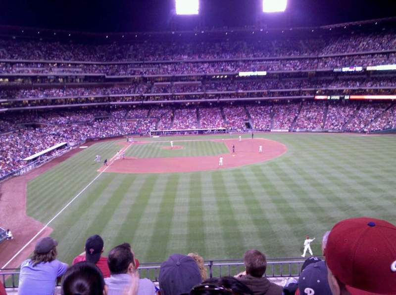 Seating view for Citizens Bank Park Section 204 Row 5 Seat 6