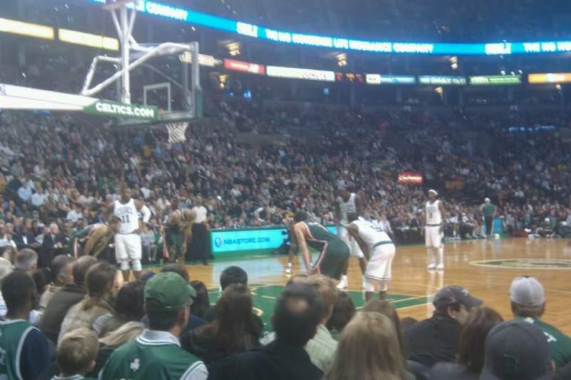 Td Garden Section Floor 14 Row A Boston Celtics