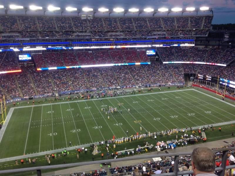 Gillette Stadium, section: 324, row: 10, seat: 15