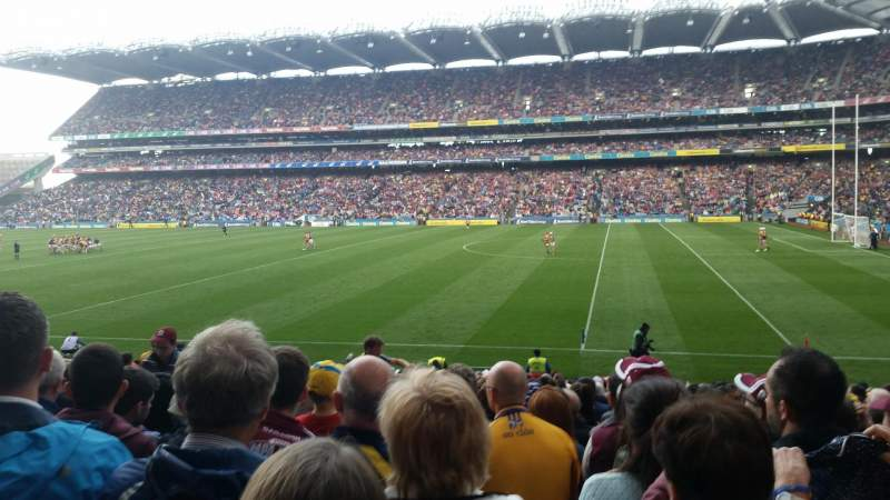 Seating view for Croke Park Section 328 Row Z Seat 9