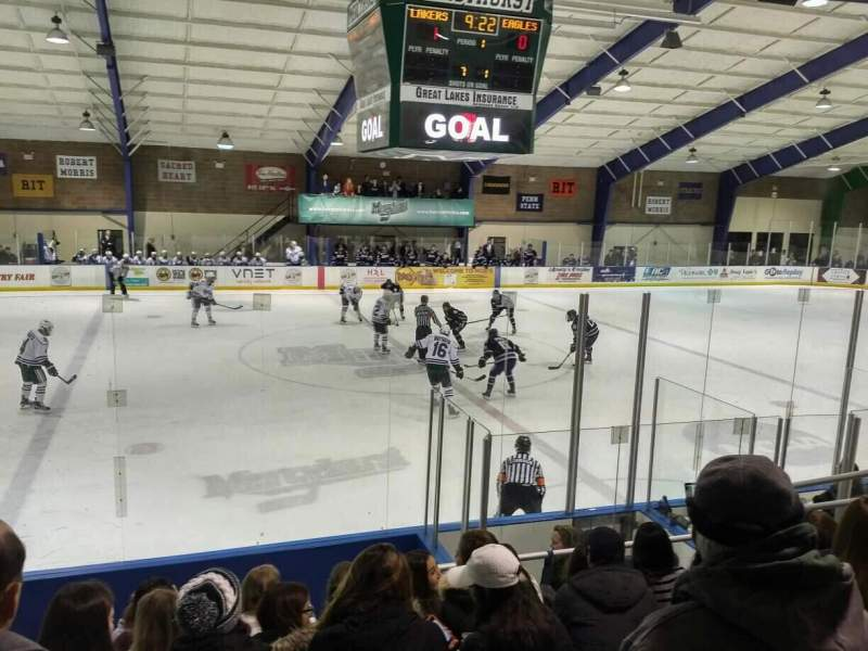 Seating view for Mercyhurst Ice Center Section GA