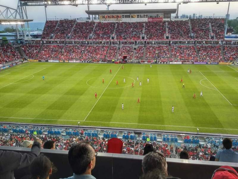 BMO Field, section: 206, row: 8, seat: 24