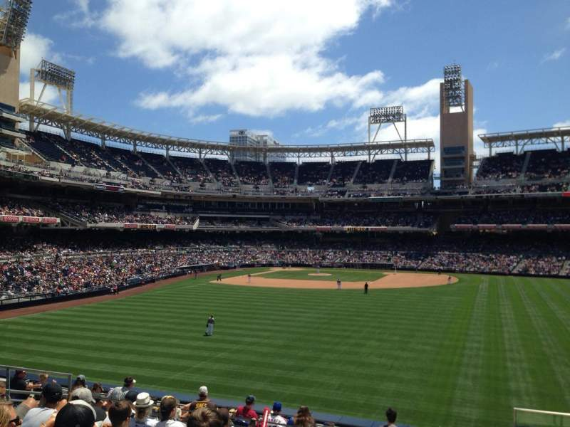 Petco Park, section: 135, row: 14, seat: 24