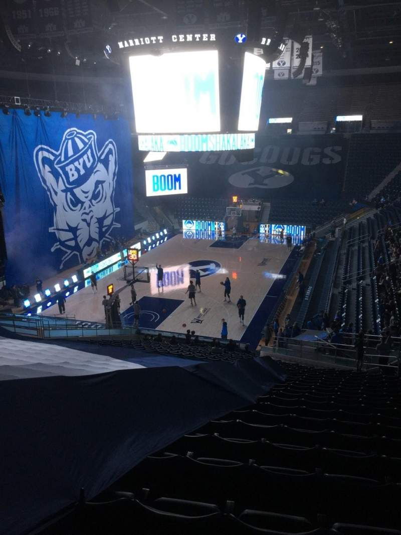 Marriott Center, section: 13, row: 26, seat: 18