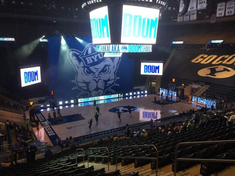 Marriott Center, section: 11, row: 24, seat: 6