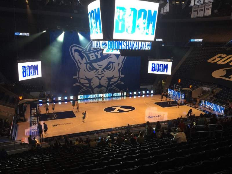 Marriott Center, section: 10, row: 24, seat: 16