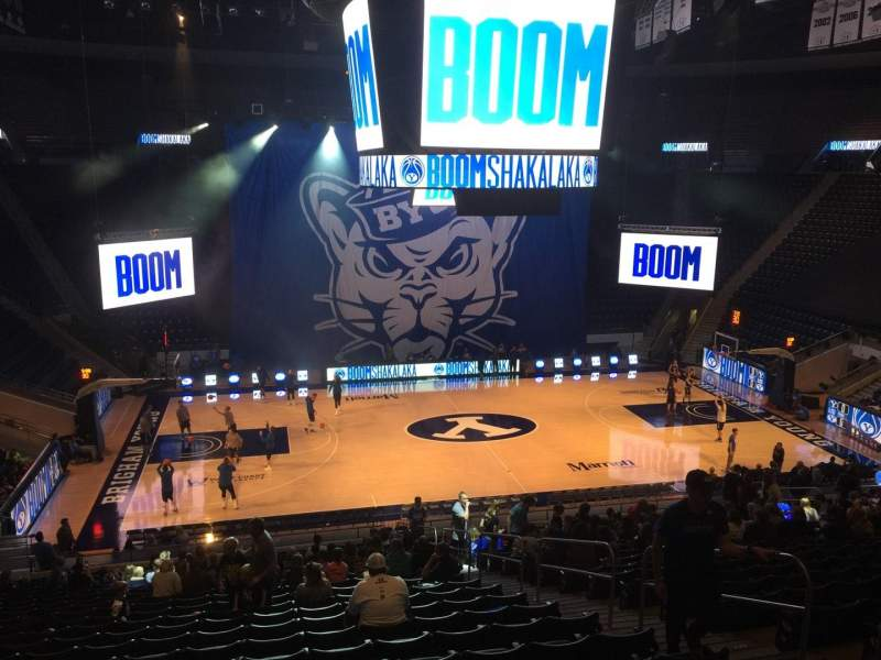 Marriott Center, section: 10, row: 24, seat: 6
