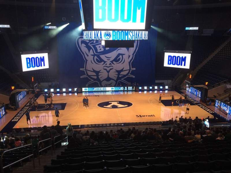 Marriott Center, section: 9, row: 24, seat: 18