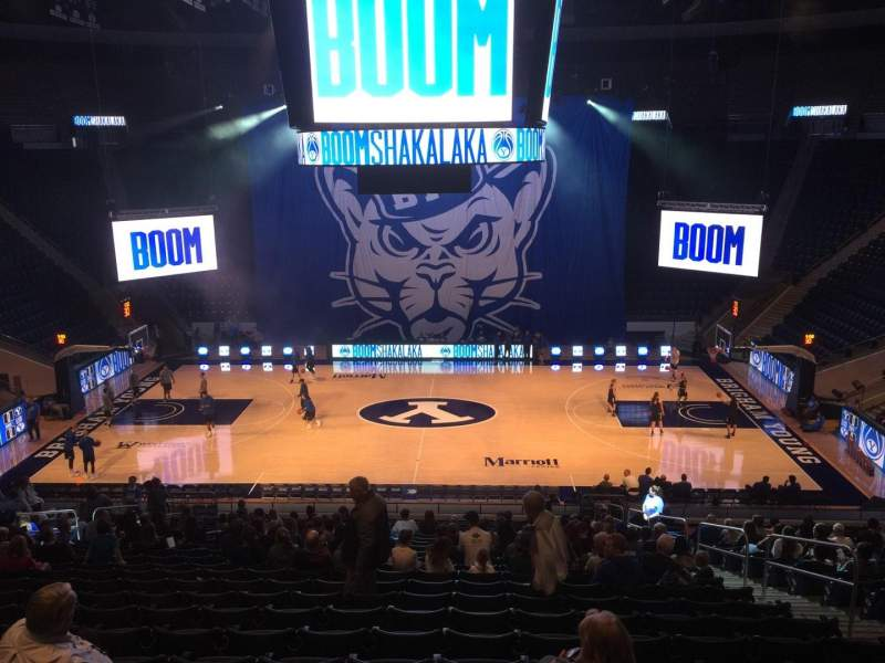 Marriott Center, section: 9, row: 24, seat: 6