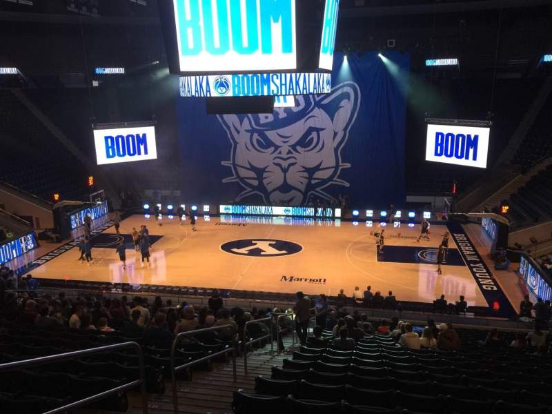 Marriott Center, section: 8, row: 24, seat: 17