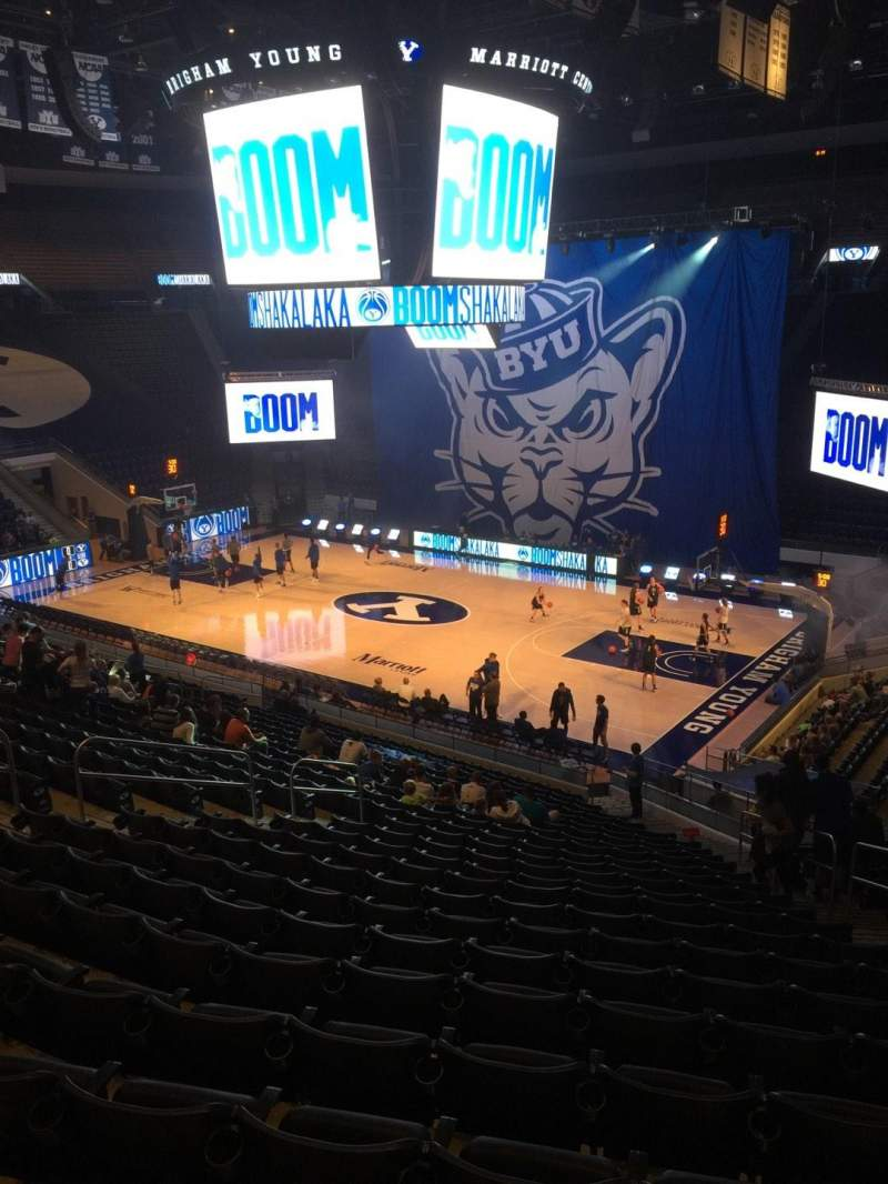 Marriott Center, section: 7, row: 24, seat: 5