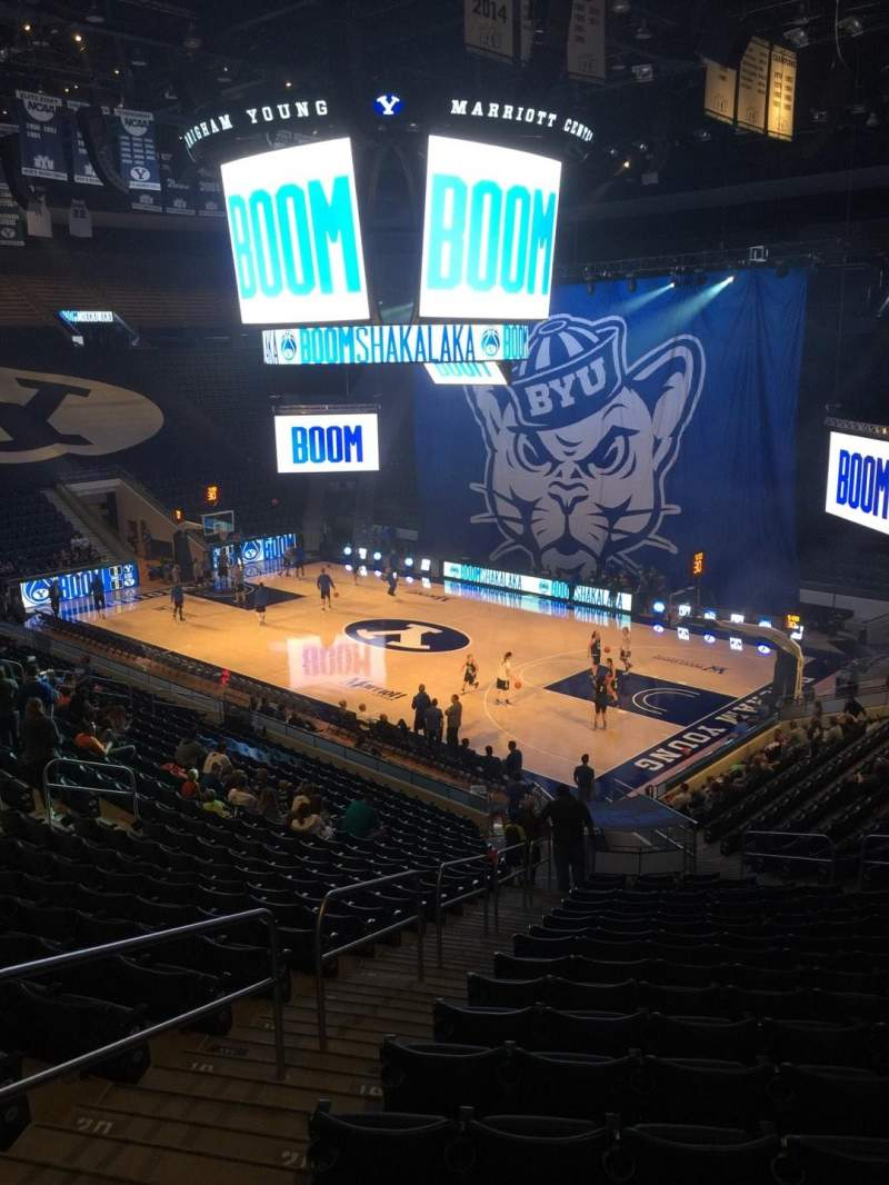Marriott Center, section: 6, row: 24, seat: 6