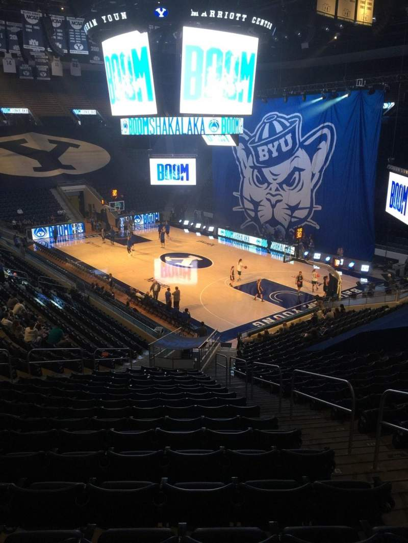 Marriott Center, section: 6, row: 24, seat: 4