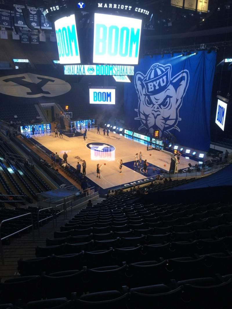 Marriott Center, section: 5, row: 24, seat: 17