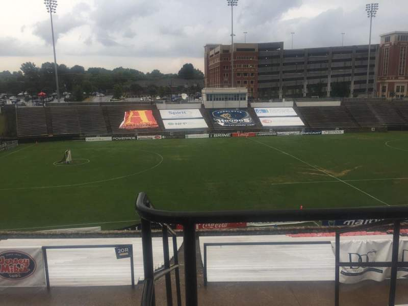 Seating view for American Legion Memorial Stadium Section 11 Row GG Seat 2