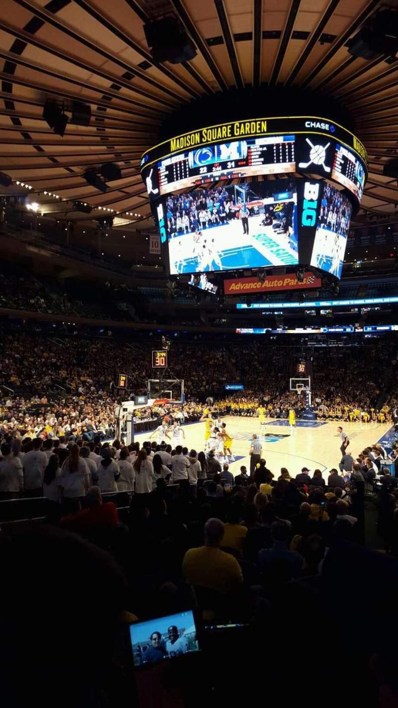 Madison Square Garden Interactive Seating Plan