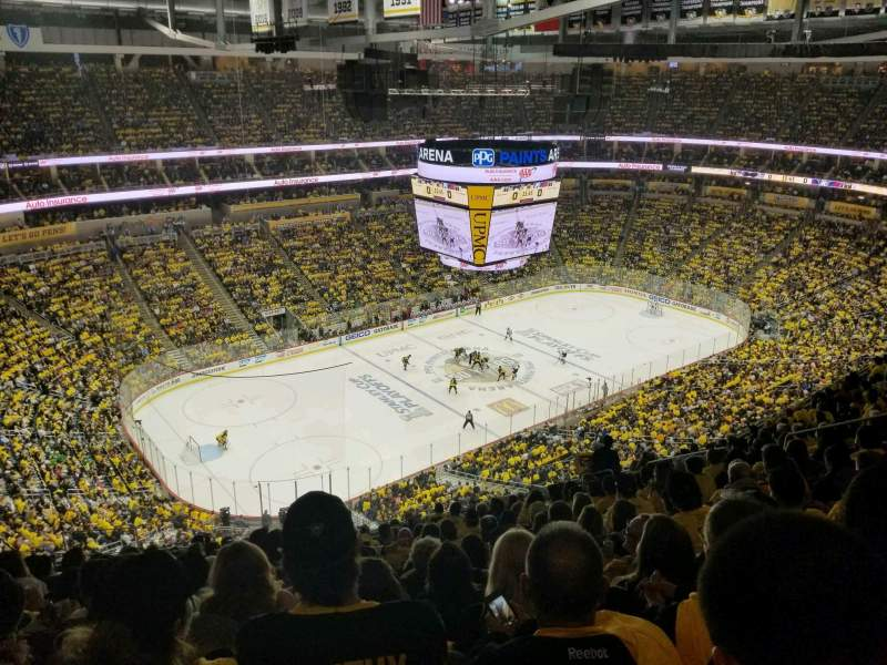 Seating view for PPG Paints Arena Section 223 Row P Seat 14