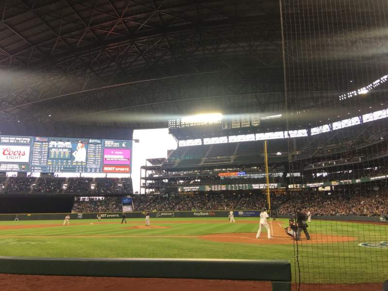 Seating view for Safeco Field Section 35 Row D Seat 3