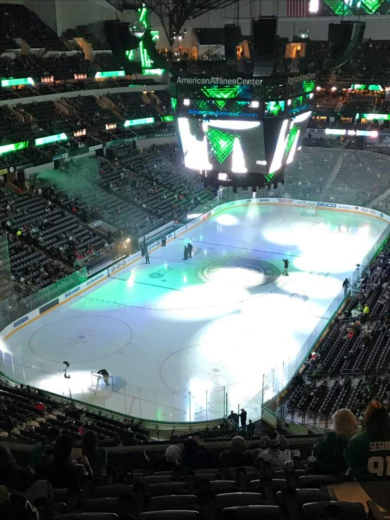 Seating view for American Airlines Center Section 316 Row K Seat 6