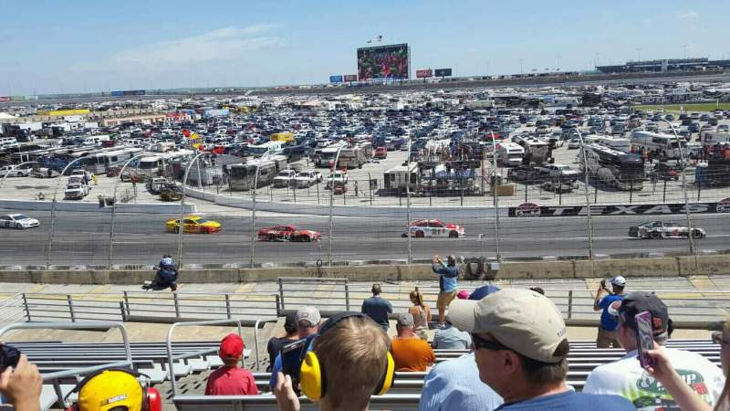 Seating view for Texas Motor Speedway Section 137 Row 25 Seat 3