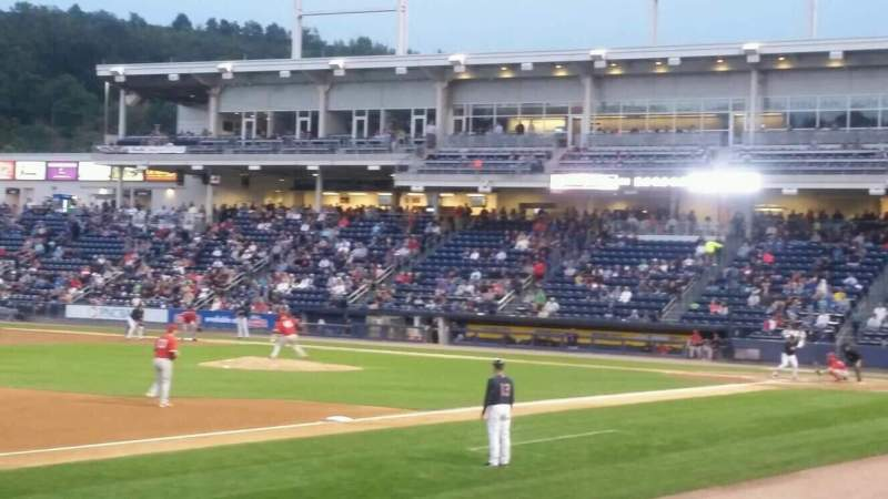 Seating view for PNC Field Section 29 Row 6 Seat 11