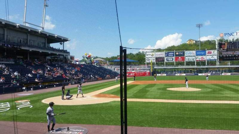 Seating view for PNC Field Section 18 Row 7 Seat 5
