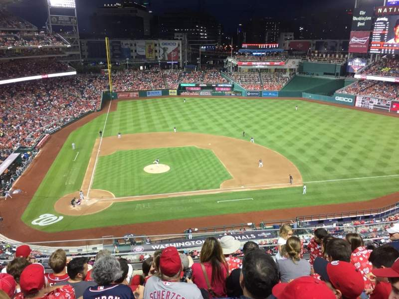Nationals Park, section: 318, row: F, seat: 16