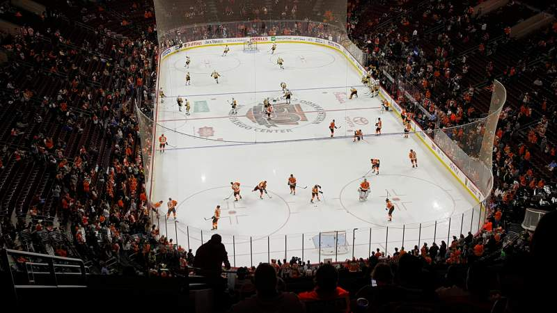 Seating view for Wells Fargo Center Section 219 Row 14 Seat 3