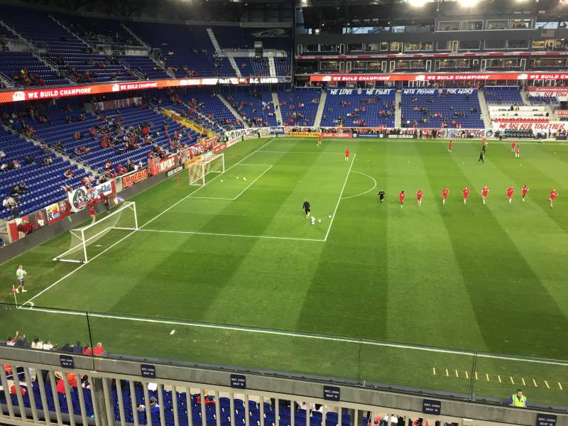 Seating view for Red Bull Arena Section 228 Row 5 Seat 16