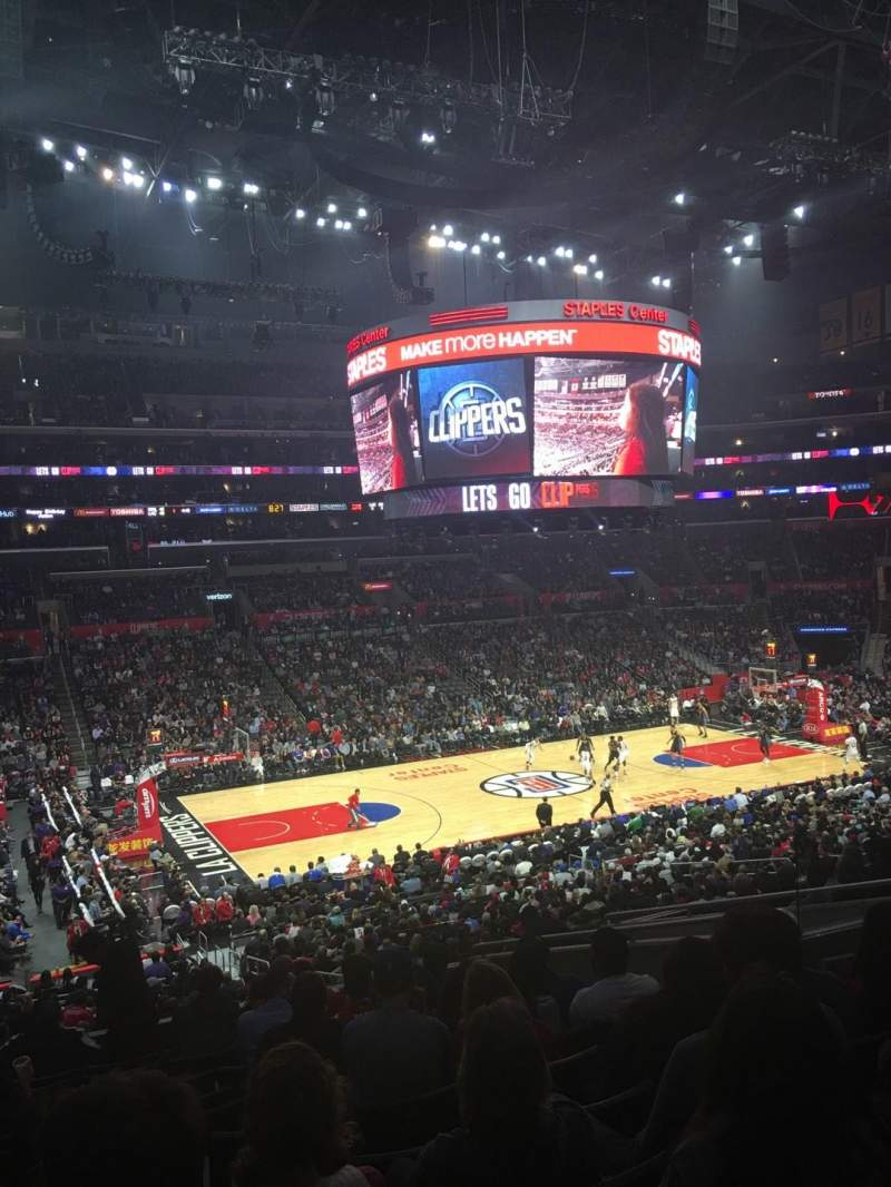Staples Center, section: PR7, row: 12, seat: 9