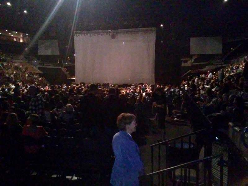 Seating view for Mandalay Bay Events Center Section 117 Row A Seat 5