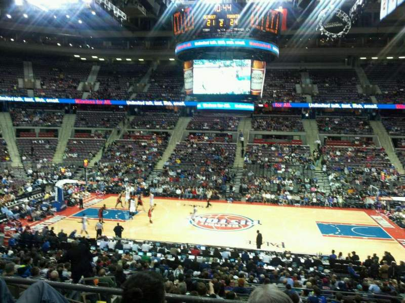 The Palace of Auburn Hills, section: 113, row: M, seat: 14