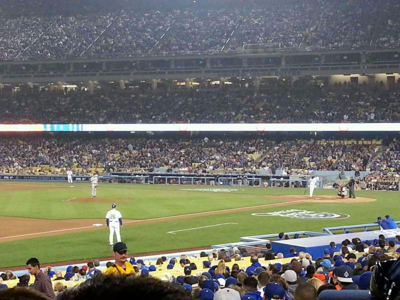 Seating view for Dodger Stadium Section 31FD Row S Seat 5
