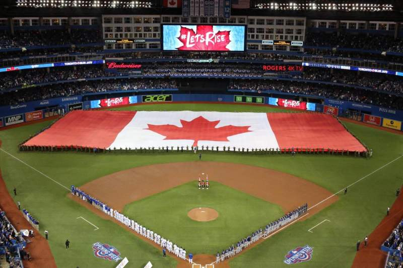 Seating view for Rogers Centre Section 524BR Row 22 Seat 9