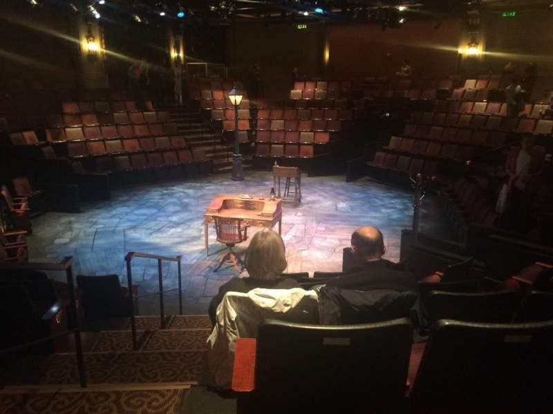 Act Christmas Carol.Act Theatre Section Aisle Row G Seat 2 A Christmas