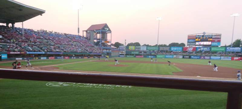 McCoy Stadium, section: 2, row: A, seat: 15