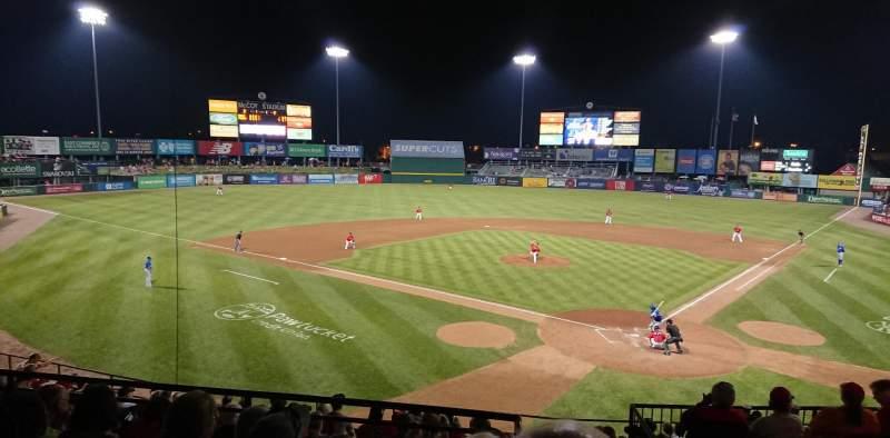 McCoy Stadium, section: 8, row: EE, seat: 1