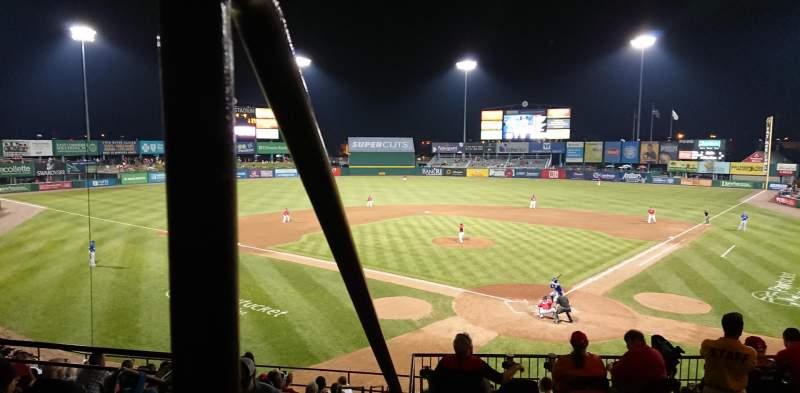 McCoy Stadium, section: 7, row: EE, seat: 19