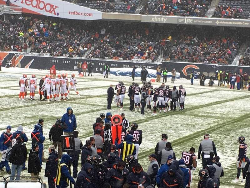 Soldier Field, section: 138, row: 13, seat: 9