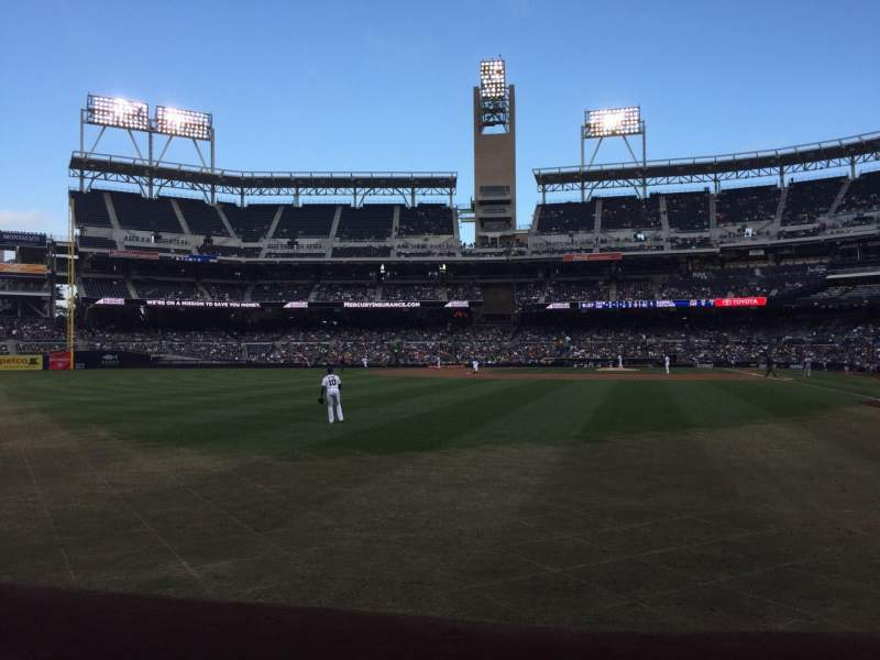 PETCO Park, section: 126, row: A, seat: 14