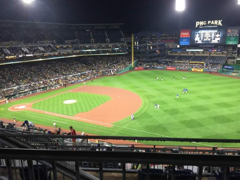 PNC Park, section: 305, row: H, seat: 17