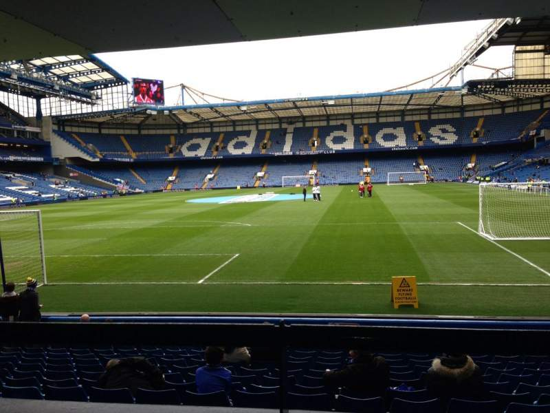Seating view for Stamford Bridge Section The Shed End lower Row 15 Seat 79