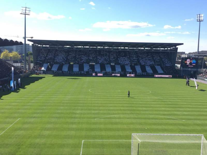 Seating view for Stade Jean Bouin Section Colombier Row Haute